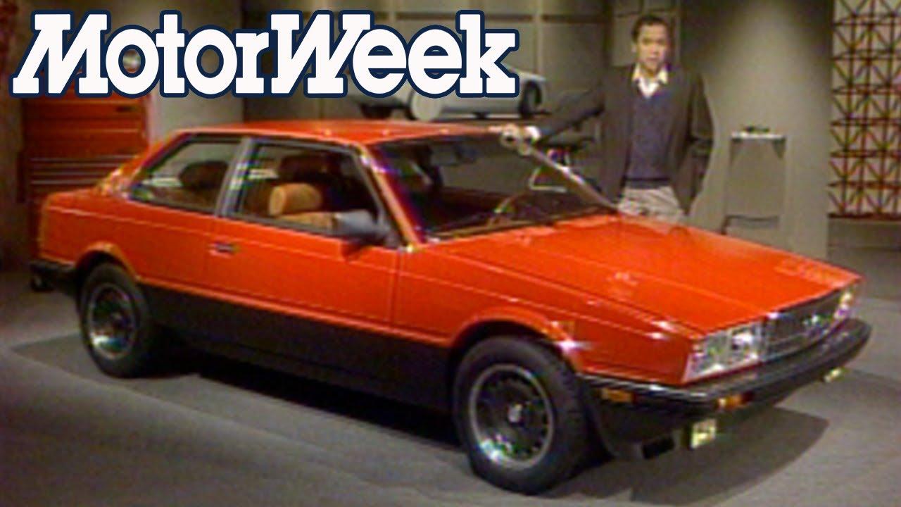 1986 Maserati Biturbo E   Retro Review - YouTube