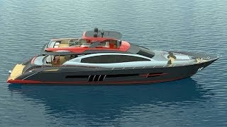 Extreme Yachts 2013 Lazzara 95 LSX
