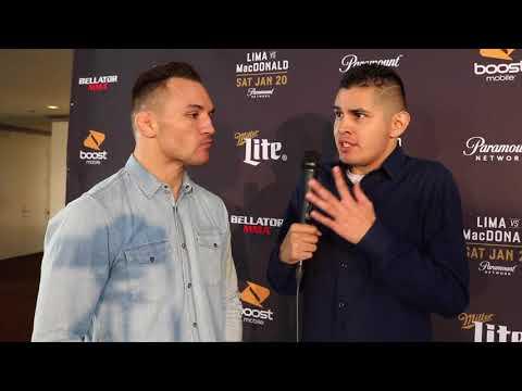 "Bellator 192's Michael Chandler: I'm the most violent man in MMA!"""
