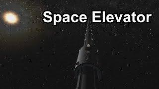 KSP Space Elevator