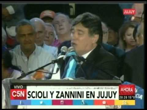 C5N - Eleccion 2015: Scioli y Zannini en Jujuy (Parte 1)