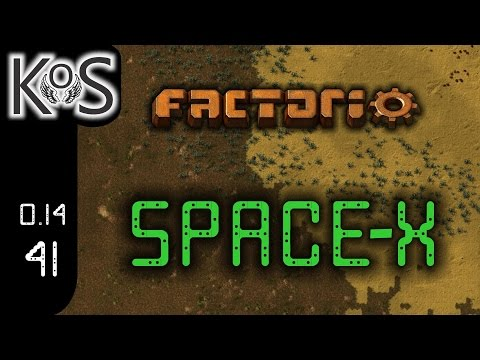 Factorio 0.14 Space-X Mod, Ep 41: Manufacturing Artifacts - Let