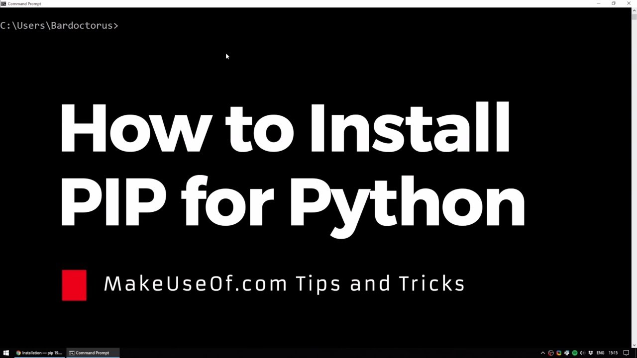 How to Install PIP for Python