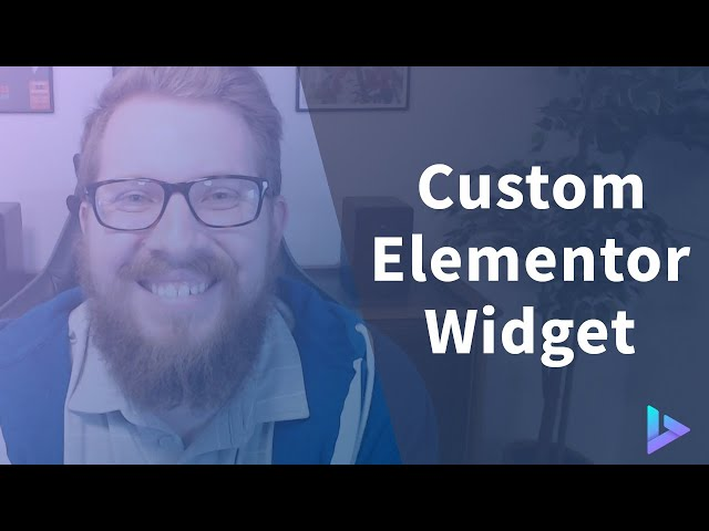 How to Build a Custom Elementor Widget Using PHP and JavaScript