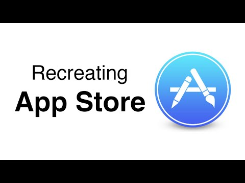 Swift: Recreating AppStore - Horizontal Scroll Direction UICollectionView (Ep 1)