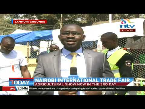 Nairobi International Trade Fair underway at Jamhuri Show Ground