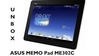 Unbox ASUS MEMO Pad FHD 10 ME302C Распаковка