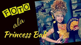 Balinese Traditional Outfit Photo Shoot and Eat Traditional Balinese Food in Kuta