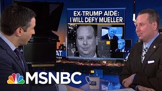 Watch Ex-Trump Aide Sam Nunberg Get Cross-Examined | The Beat With Ari Melber | MSNBC