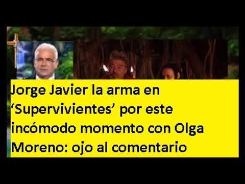 Jorge Javier la arma en 'Supervivientes' por este incómodo momento con Olga Moreno ojo al comentario