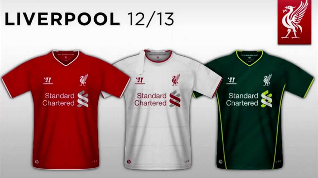 newest 6e365 5ade9 Liverpool - Home & Away Kit (2012-13)