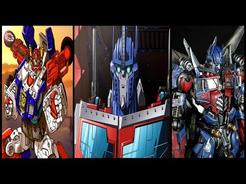 Transformers - Optimus Prime Top 7 Super Modes & Combinations