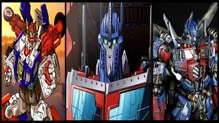 Transformers - Optimus Prime Top 7 Super Modes & Combinations