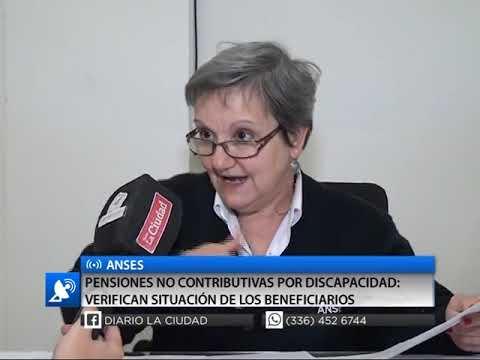 ANSES - PENSIONES NO CONTRIBUTIVAS POR DISCAPACIDAD VERIFICAN SITUACIÓN DE LOS BENEFICIARIO