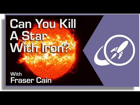 Can You Kill A Star With Iron? Why Iron Isn
