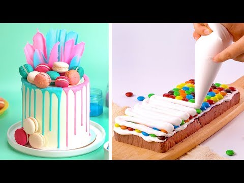 Top 10+ Best Amazing Recipes | Most Beautiful Colorful Cake Decorating Tutorials For Everyone