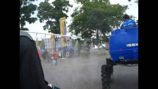 Boom Sprayer padi