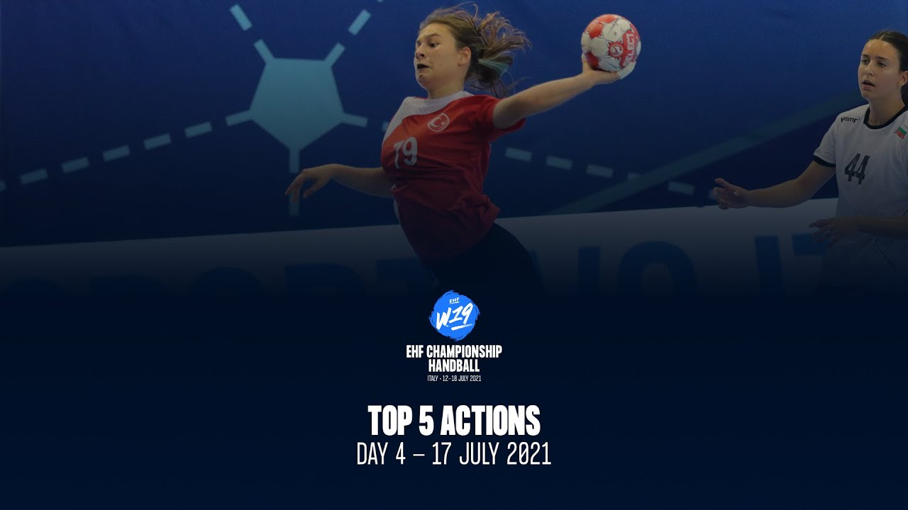 W19 EHF Championship - Top5 Actions - Day 4