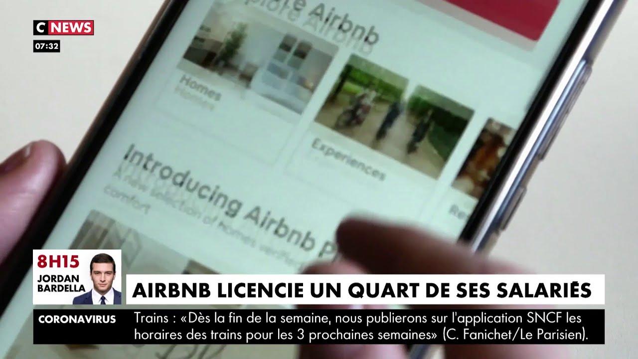 Coronavirus : AirBnb licencie un quart de ses salariés