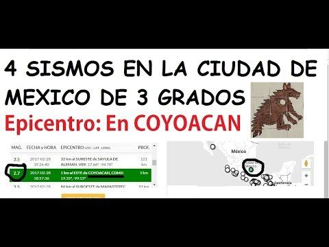 #UltimaHora Sismos en la CDMX, con epicentro en la zona de COYOACÁN