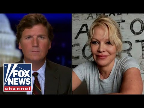Pamela Anderson joins Tucker to talk about potential final day pardons