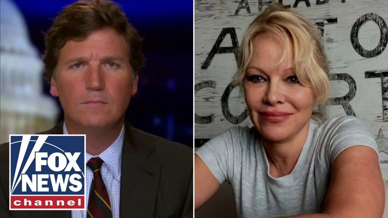 Pamela Anderson on Tucker : The President should Pardon Assange