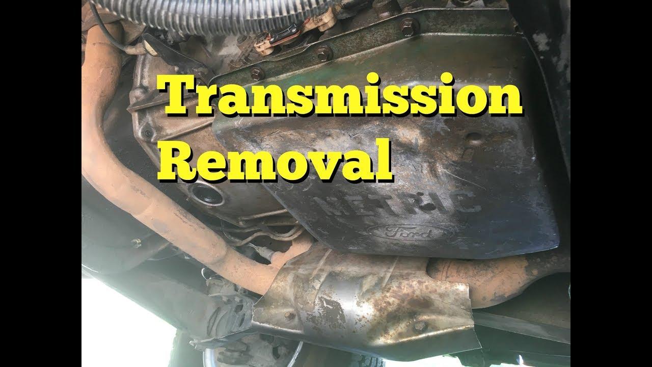 transmission removal f150 [ 1280 x 720 Pixel ]