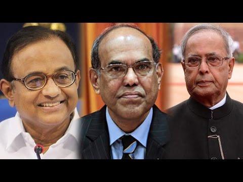 Duvvuri Subbarao on P Chidambaram & Pranab Mukherjee