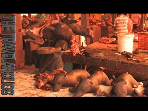 The Dog Butchering Market Tomohon Sulawesi Indonesia 🇮🇩