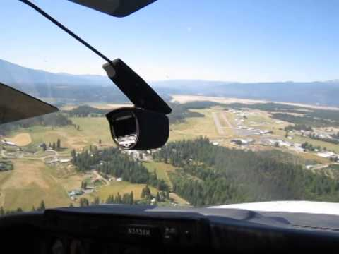 Boundary County Airport Landing