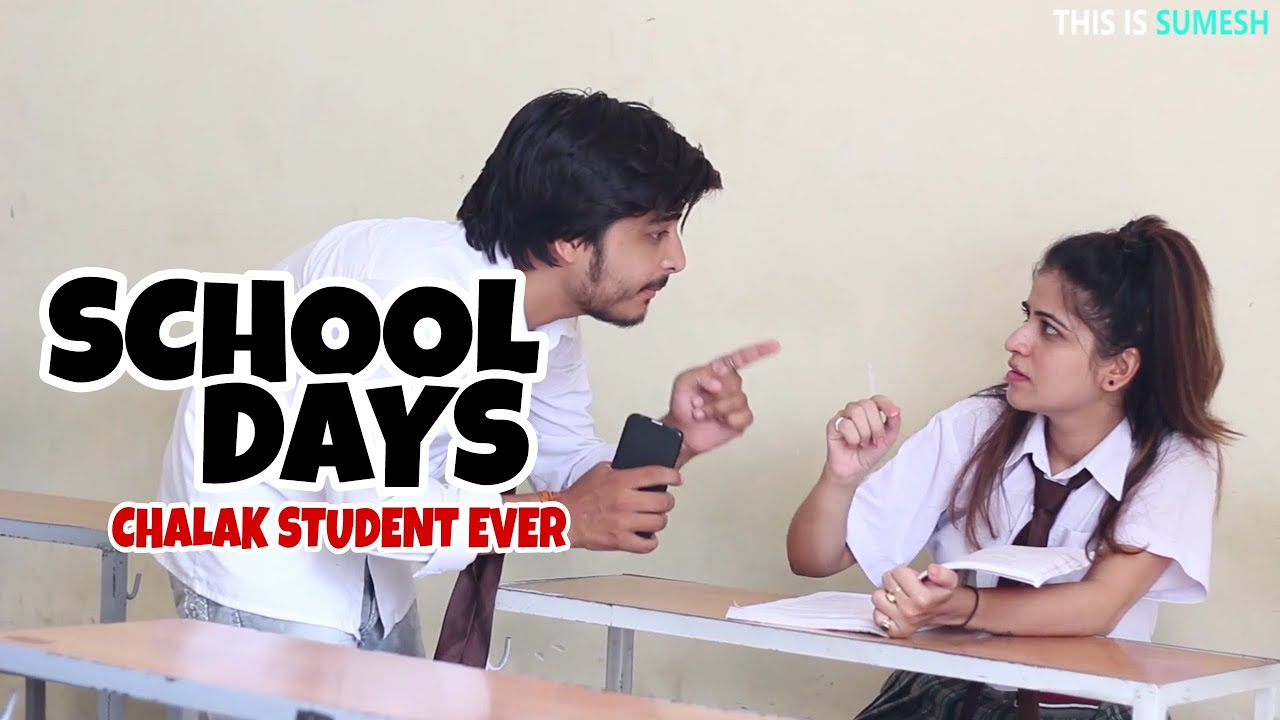 Schooldays  Chalak Student Ever - This Is Sumesh - Funny -7790