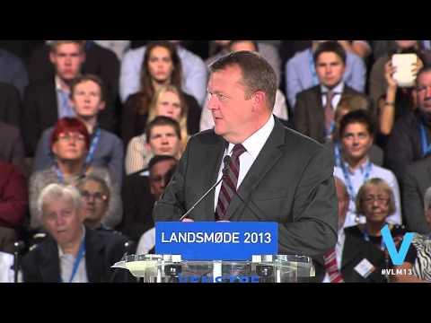 Lars Løkke Rasmussens landsmødetale 2013