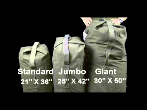 Single Strap Top Load Duffle Bags