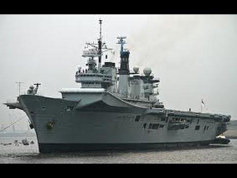 HMS Illustrious R06 at Portsmouth