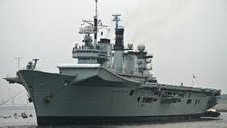HMS Illustrious R06 at Portsmouth