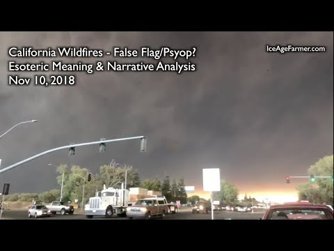California Wildfires - Psyop?