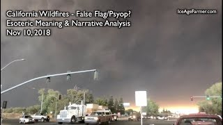 """California Wildfires - Psyop? """"Paradise Burning"""" Esoteric Meaning Exposed"""