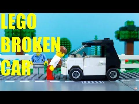 Lego Fix Broken Car