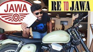Royal Enfield to Jawa | Booking My New Bike | Jawa 42