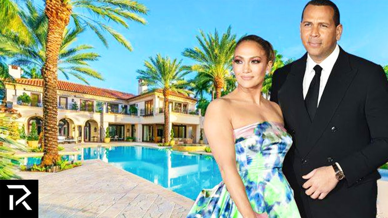 Inside J-Lo & A Rod's New $32 Million Private Mansion