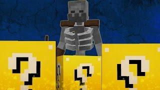 """ESQUELETO MUTANTE - """"Desafío de la Suerte"""" - #4 Lucky Blocks"""