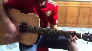 Lá Cờ guitar cover by Vinh vô va :)))