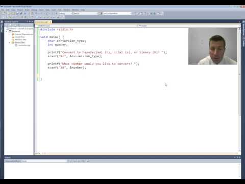 Intro to C Programming - Conditional Statements - if Program