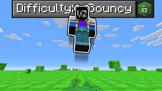 Minecraft, but EVERYTHING is BOUNCY!