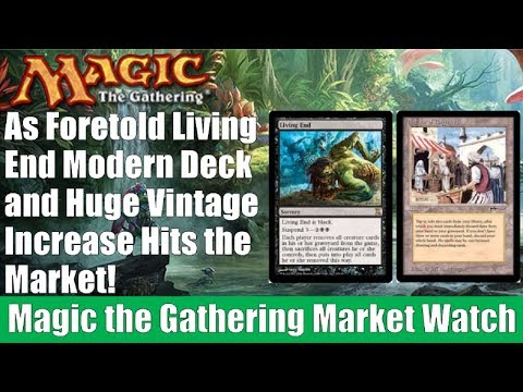 MTG Market Watch: Bazaar of Baghdad, As Foretold Living End, Temur Breach, and More!