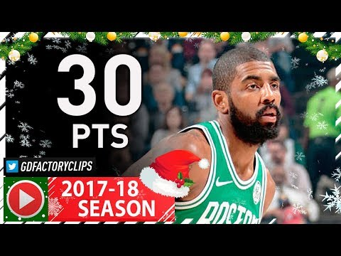 Kyrie Irving Full Highlights vs Pacers (2017.12.18) - 30 Pts, CLUTCH!