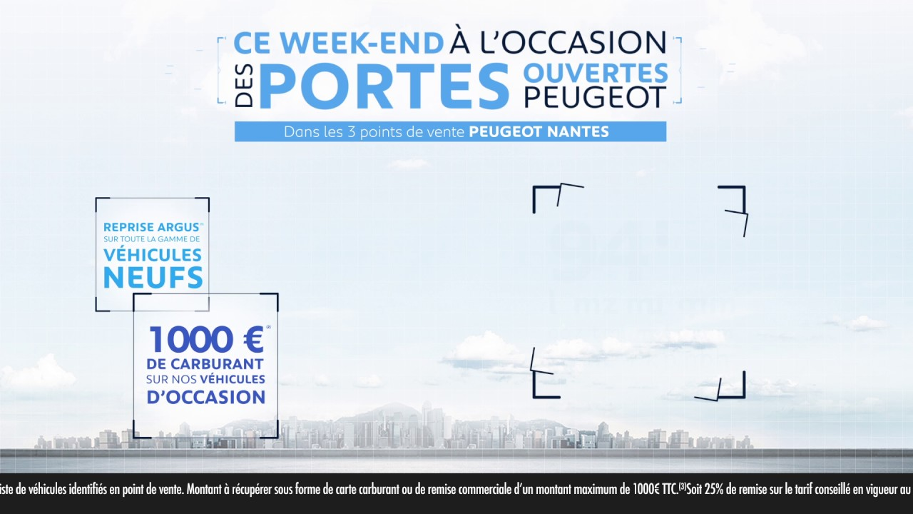 portes ouvertes peugeot nantes 18 et 19 mars 2017 youtube. Black Bedroom Furniture Sets. Home Design Ideas