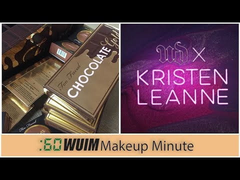 Too Faced CHOCOLATE GOLD BAR Is Almost Here! Kristen Leanne & Urban Decay! | Makeup Minute