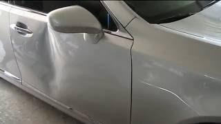 Удаление вмятин. PRD. Lexus LS460 Дверь.