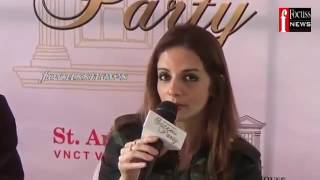The White House Coimbatore Possession Event Media Interview of Sussanne Khan